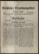 Kirchliches Verordnungsblatt für die Diözese Gurk