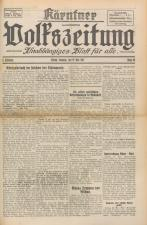 Kärntner Volkszeitung und Heimatblatt