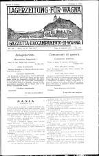 Lagerzeitung für Wagna