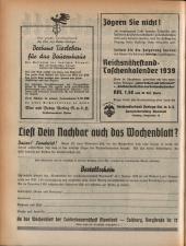 Wochenblatt der Bauernschaft für Salzburg 19381119 Seite: 2