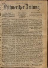 Leitmeritzer Zeitung 18921231 Seite: 1