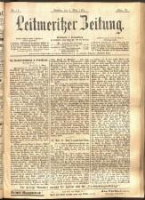 Leitmeritzer Zeitung 18930304 Seite: 1