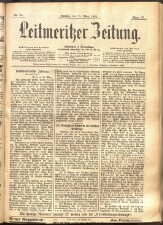 Leitmeritzer Zeitung 18930325 Seite: 1