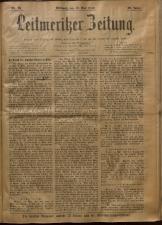 Leitmeritzer Zeitung 19090519 Seite: 1