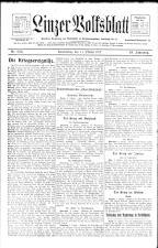 Linzer Volksblatt 19171011 Seite: 1