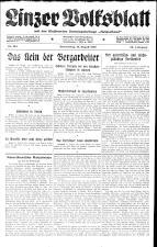 Linzer Volksblatt 19260812 Seite: 1