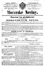 Morawske Nowiny (Noviny). (Mährische Zeitung.)
