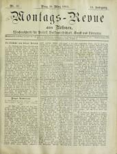 Montags-Revue aus Böhmen 18930320 Seite: 1