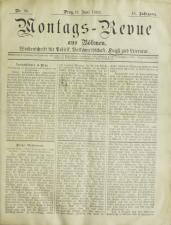 Montags-Revue aus Böhmen 18930619 Seite: 1