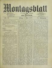 Montags-Revue aus Böhmen
