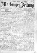 Marburger Zeitung 18930101 Seite: 1