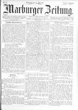 Marburger Zeitung 18930324 Seite: 1