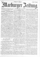 Marburger Zeitung 18930716 Seite: 1
