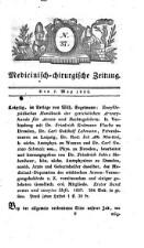 Medizinisch chirurgische Zeitung