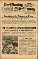 Der Montag 19381107 Seite: 1