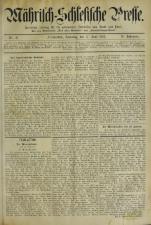 Mährisch-Schlesische Presse 18930617 Seite: 1