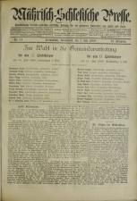 Mährisch-Schlesische Presse