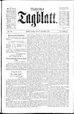 Mährisches Tagblatt 18890927 Seite: 1