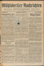 Mühlviertler Nachrichten 19270708 Seite: 1