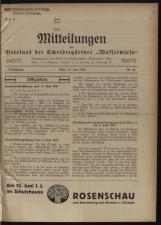 Mitteilungen (Mittheilungen) des Vereines der Schrebergärtner