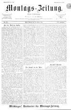 Montags Zeitung