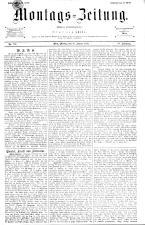 Montags Zeitung 18930130 Seite: 1