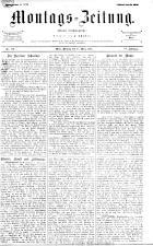 Montags Zeitung 18930327 Seite: 1