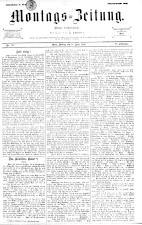 Montags Zeitung 18930410 Seite: 1