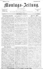 Montags Zeitung 18930515 Seite: 1