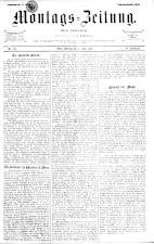 Montags Zeitung 18930619 Seite: 1