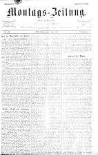 Montags Zeitung 18930703 Seite: 1