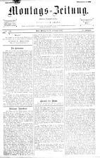Montags Zeitung 18930918 Seite: 1