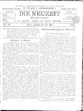 Die Neuzeit 18930519 Seite: 1