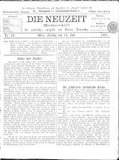 Die Neuzeit 18930714 Seite: 1