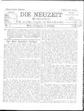Die Neuzeit 18980204 Seite: 1