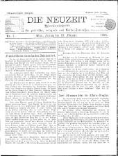 Die Neuzeit 18980218 Seite: 1