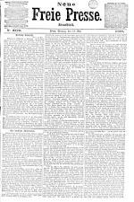 Neue Freie Presse 18720513 Seite: 1