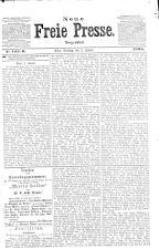 Neue Freie Presse 19040103 Seite: 1