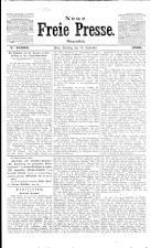 Neue Freie Presse 19090928 Seite: 1
