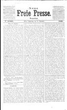 Neue Freie Presse 19090930 Seite: 1