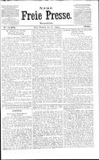 Neue Freie Presse 19130122 Seite: 1