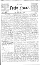 Neue Freie Presse 19130125 Seite: 1