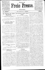 Neue Freie Presse 19201105 Seite: 1