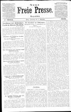 Neue Freie Presse 19201106 Seite: 1
