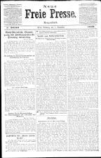 Neue Freie Presse 19201107 Seite: 1