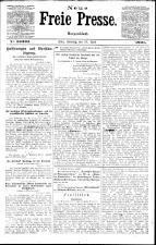 Neue Freie Presse 19210410 Seite: 1