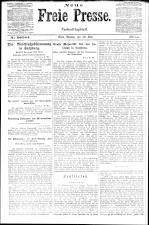 Neue Freie Presse 19210530 Seite: 1