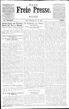 Neue Freie Presse 19210727 Seite: 1