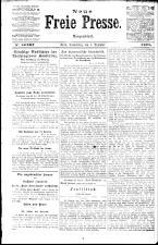 Neue Freie Presse 19211201 Seite: 1