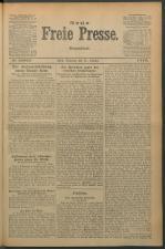 Neue Freie Presse 19221021 Seite: 1